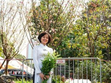 Hàng chục cây hoa anh đào Nhật Bản khoe sắc ở vườn hoa Lý Thái Tổ