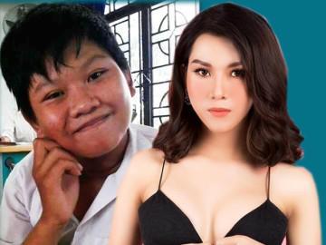 """Cậu bé Sài Gòn đen nhẻm """"dậy thì"""" thành cô gái đẹp được nhiều chàng theo đuổi"""