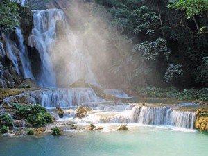 Kuang Si - thác nước đẹp nhất đất nước Triệu Voi