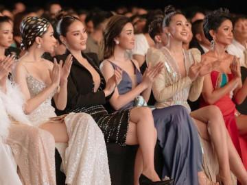 """Khoảnh khắc 5 nàng Hậu của showbiz Việt """"hội tụ"""" trong một khung hình, ai xuất hơn ai?"""