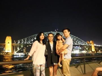 Diva Thanh Lam hạnh phúc bên con gái đầu lòng và cháu ngoại tại Úc