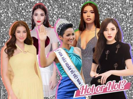 """H'Hen Niê gia nhập bộ ba Hoa hậu mặc đẹp, """"công phá"""" showbiz cùng Phạm Hương, Kỳ Duyên"""