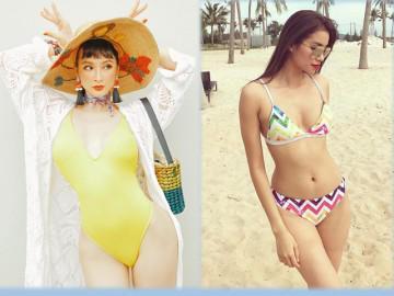Chẳng hề tốn kém vẫn có ngay áo tắm thiêu đốt ánh nhìn giống Phạm Hương, Angela Phương Trinh