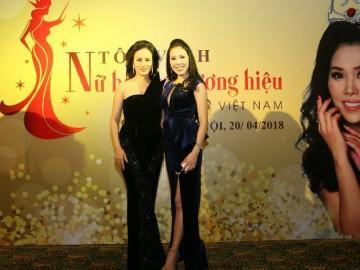 Công bố ra mắt chương trình Tôn vinh Nữ hoàng Thương hiệu Việt Nam