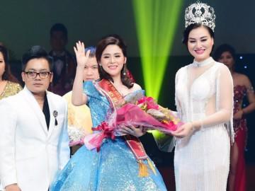Người đẹp Thanh Trang xuất sắc đạt giải Hoa hậu Doanh nhân có làn da đẹp nhất