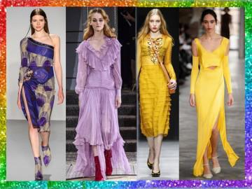 Không riêng gì tím, còn nhiều màu khác được lăng xê nhiệt tình năm mới này!