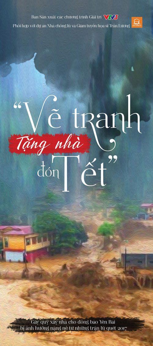 """hoa hau xuan huong """"tang nha don tet"""" trong chuong trinh dau gia tu thien - 1"""