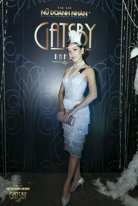 Á Hậu là một trong những khách mời VIP của đêm tiệc Gatsby
