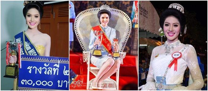 """my nhan cao 1m8 """"thi dau thang do"""" dang quang hoa hau hoa binh thai lan 2018 - 3"""