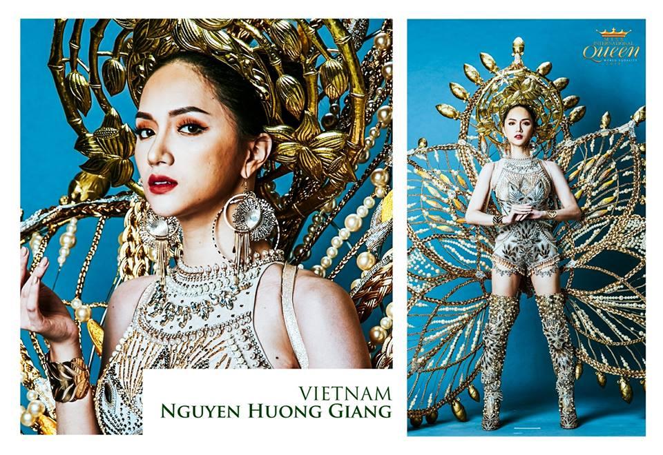 """""""nang sen"""" huong giang idol toa sang tai hoa hau chuyen gioi - 3"""