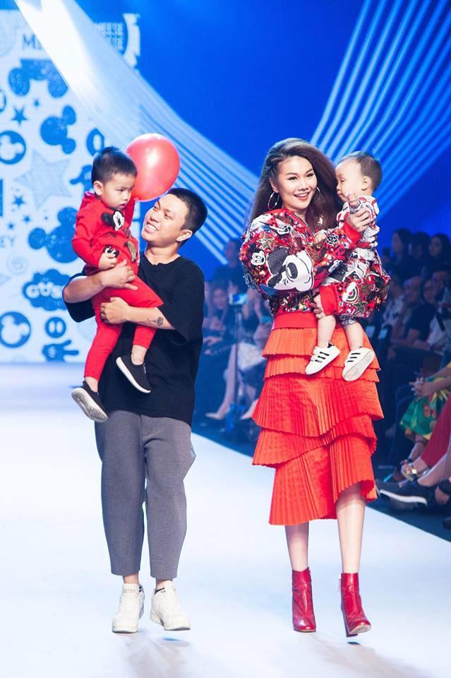 sieu mau thanh hang, minh tu cung nhau dot chay san dien asian kids fashion week - 2