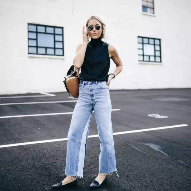 quen jeans ong con di, mua he phai mac kieu quan jeans nay moi mat! - 13