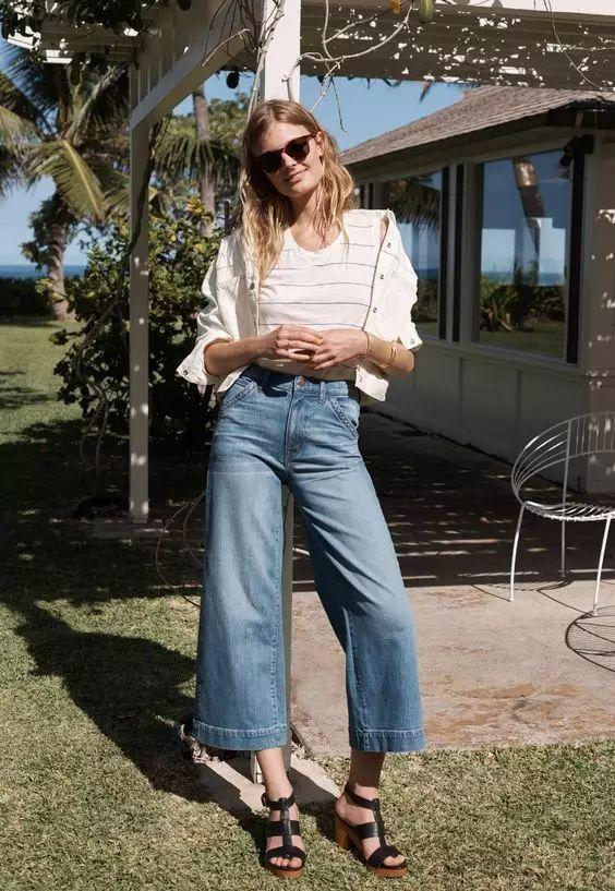 quen jeans ong con di, mua he phai mac kieu quan jeans nay moi mat! - 9