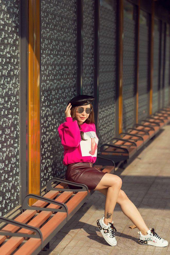 a khoi mai dieu linh khoe street style cuc ky tre trung va cuon hut - 5