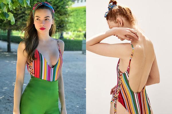 cung mot set do bikini ngoc trinh khoe dang quyen ru con minh hang dien han ra pho - 5