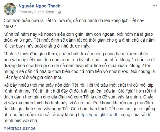 luong the thanh, mc diep chi hao hung chia se du dinh don tet voi gia dinh - 2