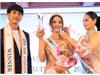Hoa hậu Trái đất Thái Lan trao vương miện cho Tân Nữ hoàng sắc đẹp châu Á Vi Nhạn Ngọc