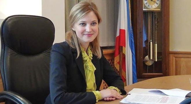 """Nữ Tổng chưởng lý Crimea: """"Tôi xấu hổ cho thế hệ mình"""""""
