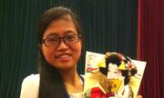 Nữ sinh Hà Nội giành giải nhất tình nguyện toàn cầu