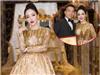 Hoa hậu Nguyễn Hoàng Hạ My xinh đẹp đài các khi nhận giải Bông hồng quyền lực