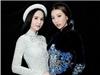 Á hậu Đặng Ngọc Đình đọ sắc cùng Ngọc Trinh tại Tuần lễ thời trang quốc tế Việt Nam