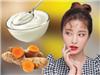 Trị mụn, làm trắng da chỉ với công thức mặt nạ nghệ sữa chua cực dễ làm!