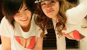 Giới trẻ Nhật thích thú với áo khoe vòng một