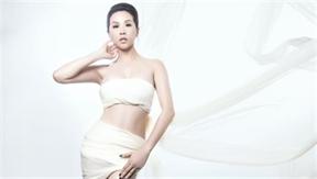 Hoa hậu Thu Hoài khoe ảnh bán nude