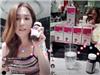 Ngọc Trinh livestream chia sẻ bí quyết giảm cân từ Pháp