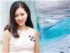 Nàng Hoa hậu Việt Hàn 2017 sử dụng nước băng Bắc cực chống nắng cho hè 2018