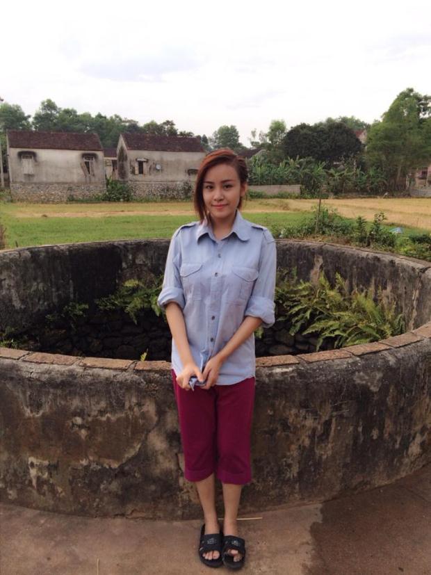 Bà Tưng hoá gái quê, Lâm Chi Khanh photoshop quá tay