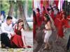 """Cô dâu nhảy cực """"sung"""" trong đám cưới khiến khách mời không thể rời mắt"""