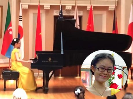 Thí sinh Việt Nam đoạt 3 giải tại cuộc thi piano quốc tế