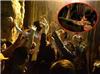 """Người dân liều lĩnh đu mình trên vách đá hứng nước """"lộc"""" trước giờ khai hội chùa Hương"""