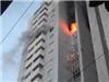 Cháy lớn tại toà chung cư CT3 Bắc Hà trên đường Lê Văn Lương