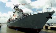 Hạ thủy thành công hai tàu tên lửa do Việt Nam đóng