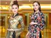 Kỳ Duyên, Huyền My hội ngộ lộng lẫy trên thảm đỏ Hoa hậu Việt Nam 2018