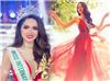 Hoa hậu Hương Giang chính là mỹ nhân nghiện diện đồ đỏ nhất Vbiz