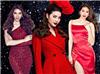 Nữ hoàng nghiện đầm đỏ của showbiz Việt đích thị là Phạm Hương
