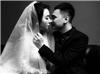 """Khắc Việt tung bộ ảnh cưới đen - trắng cực """"độc"""" bên vợ DJ xinh đẹp"""