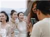 Trường Giang xem clip Nam Em tặng bánh và hoa, Nhã Phương lại vui vẻ đi sự kiện