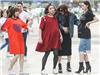 """Vợ chồng Trấn Thành, Hoa hậu Kỳ Duyên vác bụng bầu giả """"làm loạn"""" giữa phố"""