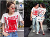 Hoa hậu Kỳ Duyên men không kém Kim Lý khi đụng áo hàng hiệu