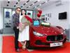 Hoa hậu Hạ My được chồng tặng xe tiền tỷ trước ngày Valentine
