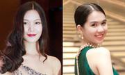 Thùy Dung, Ngọc Trinh trang điểm đẹp nhất tuần qua