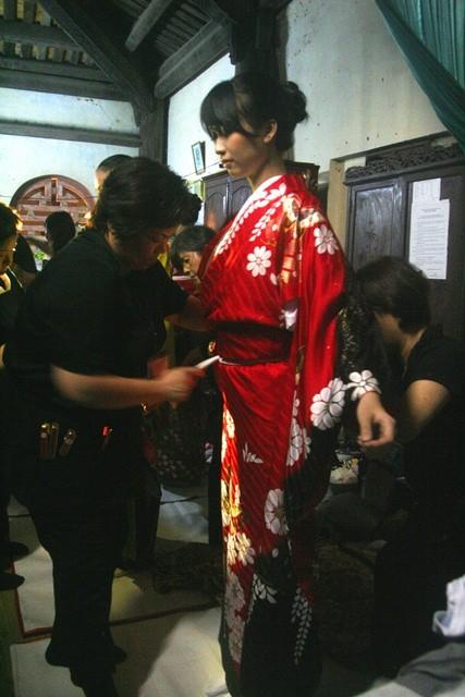 Kimono giá cả nửa tỷ đồng đến Huế