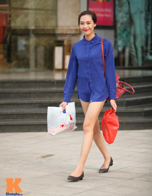Thời trang phố gợi cảm của phái đẹp Hà Thành