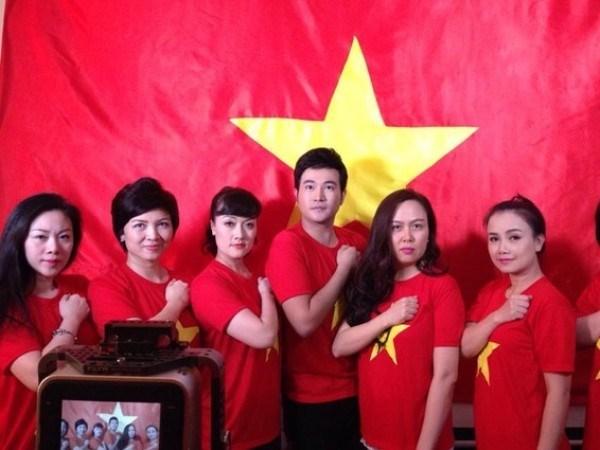 """Chương trình nghệ thuật """"Là người con Đất Việt"""" phản đối Trung Quốc"""