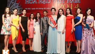 Khởi động cuộc thi Hoa Hậu Việt Nam 2014