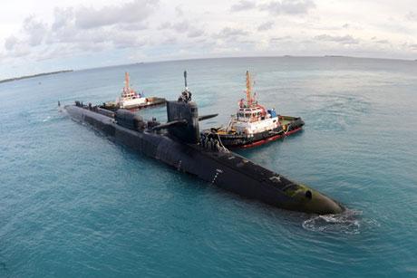 8 chiếc tàu ngầm Mỹ đang ở gần biển TQ